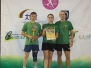 Akmenės seniūnijos stalo tenisininkai - Lietuvos vicečempionai 2015 09 19 Utena