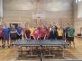 Profesionalų grupės stalo tenisininkai artėja prie finišo tiesiosios 2017 03 24 Akmenė