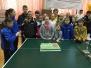 Stalo tenisininkės varžėsi Slovakijoje 2015 03 6-8 Slovakija