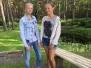 Tarptautinė stalo teniso stovykla Latvijoje 2016 07 04-15 Rucava